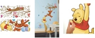York Wallcoverings Winnie The Pooh Swinging For Honey Peel and Stick Giant Wall Decals
