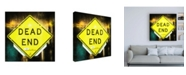 "Trademark Global Philippe Hugonnard Dead End Sign Canvas Art - 15.5"" x 21"""