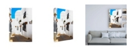 "Trademark Global Philippe Hugonnard Made in Spain Mijas White Architecture Canvas Art - 27"" x 33.5"""