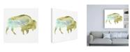 "Trademark Global June Erica Vess Agate Animal III Canvas Art - 36.5"" x 48"""