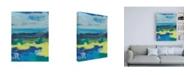 "Trademark Global Regina Moore Stitched Sky I Canvas Art - 15.5"" x 21"""