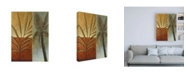 """Trademark Global Pablo Esteban Palm Trees with Fronds Canvas Art - 27"""" x 33.5"""""""