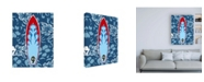 "Trademark Global Ethan Harper Endless Summer VI Childrens Art Canvas Art - 27"" x 33.5"""