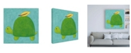 "Trademark Global Chariklia Zarris Augusts Wish IV Canvas Art - 36.5"" x 48"""