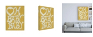 "Trademark Global Chariklia Zarris Oh Baby, Baby Canvas Art - 27"" x 33.5"""