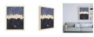 "Trademark Global Michael Tompsett Tokyo Japan Skyline Navy Canvas Art - 36.5"" x 48"""
