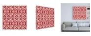 """Trademark Global Pela Studio Bazaar Patchwork Pattern IVA Canvas Art - 15.5"""" x 21"""""""