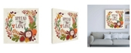 "Trademark Global Janelle Penner Spread the Love II Canvas Art - 15.5"" x 21"""