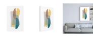 """Trademark Global Mike Schick Transparent Canvas Art - 19.5"""" x 26"""""""
