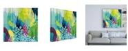 "Trademark Global Kathy Ferguson Jewel Forest II Canvas Art - 15.5"" x 21"""