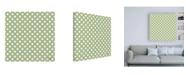 "Trademark Global Katie Pertiet Studio Botanicals Pattern IVE Canvas Art - 15.5"" x 21"""