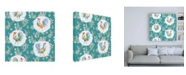 "Trademark Global Daphne Brissonnet Morning Bloom Pattern IB Canvas Art - 15.5"" x 21"""