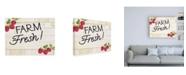 "Trademark Global Kathleen Parr McKenna Life on the Farm Sign I v2 Canvas Art - 36.5"" x 48"""
