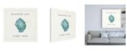 """Trademark Global Pela Studio Sea Treasures I Jingle Bells Canvas Art - 15.5"""" x 21"""""""