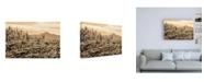 "Trademark Global Mitch Catanzaro Arizona Mountains Canvas Art - 27"" x 33.5"""
