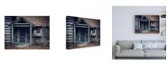 """Trademark Global Michael Broo Door to the Past Canvas Art - 15.5"""" x 21"""""""