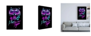 "Trademark Global Robert Farka Miami Tiger Canvas Art - 19.5"" x 26"""