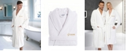 """Linum Home Terry Bathrobe with Embroidered """"Groom"""""""