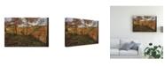 "Trademark Global Kurt Shaffer Multi-Color Ohio Autumn Canvas Art - 15"" x 20"""