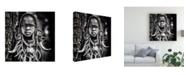 "Trademark Global Piet Flour Enigma Canvas Art - 15"" x 20"""