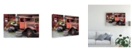 "Trademark Global Monte Nagler Memories Truck Canvas Art - 20"" x 25"""