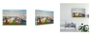 "Trademark Global Monte Nagler Five Chairs Port Sanilac Michigan Color Canvas Art - 20"" x 25"""