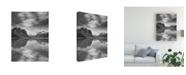 "Trademark Global Monte Nagler Mountain Reflections Canada Canvas Art - 15"" x 20"""