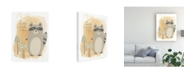 "Trademark Global June Erica Vess Woodland Whimsy IV Canvas Art - 15"" x 20"""