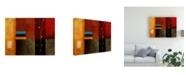 "Trademark Global Pablo Esteban Bold Geometry 3 Canvas Art - 27"" x 33.5"""