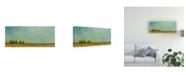 "Trademark Global Pablo Esteban Green Tuscan Paint Landscape 2 Canvas Art - 27"" x 33.5"""