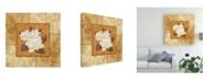 "Trademark Global Pablo Esteban Magnolia 2 Beige Canvas Art - 15.5"" x 21"""