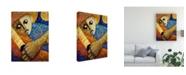 "Trademark Global Oscar Ortiz Jibaro & Luna Canvas Art - 27"" x 33.5"""