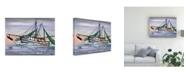 "Trademark Global Patrick Sullivan Shrimper Out Canvas Art - 19.5"" x 26"""
