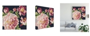 "Trademark Global Danhui Nai Mixed Floral IV Crop I Pastel Canvas Art - 36.5"" x 48"""