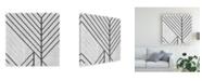 "Trademark Global June Erica Vess Diametric II Canvas Art - 15.5"" x 21"""