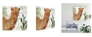 "Trademark Global Victoria Borges Meet Me in Marrakech III Canvas Art - 15.5"" x 21"""