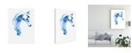 "Trademark Global Julie T. Chapman Blue Agate I Canvas Art - 27"" x 33.5"""