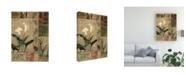 "Trademark Global Judi Bagnato Natures Bounty I Canvas Art - 15.5"" x 21"""