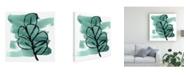 "Trademark Global June Erica Vess Tropical Sumi E V Canvas Art - 19.5"" x 26"""