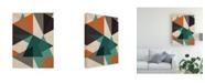 """Trademark Global June Erica Vess In Between I Canvas Art - 27"""" x 33.5"""""""