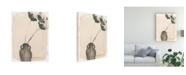 "Trademark Global Jennifer Paxton Parker Grey Garden Vase I Canvas Art - 15.5"" x 21"""