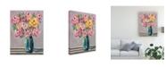 "Trademark Global Regina Moore Feisty Floral I Canvas Art - 27"" x 33.5"""