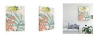 "Trademark Global June Erica Vess Tropical Nude III Canvas Art - 27"" x 33.5"""
