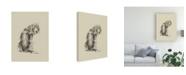 "Trademark Global Ethan Harper Puppy Dog Eyes I Canvas Art - 27"" x 33.5"""