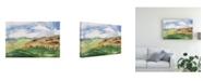 "Trademark Global Melissa Wang Living in the Mountains II Canvas Art - 15.5"" x 21"""