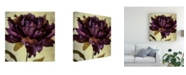 "Trademark Global Honey Malek Lush Vintage Florals IV Canvas Art - 15.5"" x 21"""