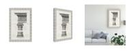 "Trademark Global Vision Studio Column Overlay II Canvas Art - 15.5"" x 21"""