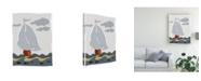 "Trademark Global Rob Delamater Oceans Ahoy III Canvas Art - 27"" x 33.5"""