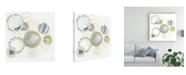 "Trademark Global June Erica Vess Abstract Canvas Art - 19.5"" x 26"""