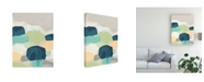 "Trademark Global June Erica Vess Abstract Canvas Art - 15.5"" x 21"""